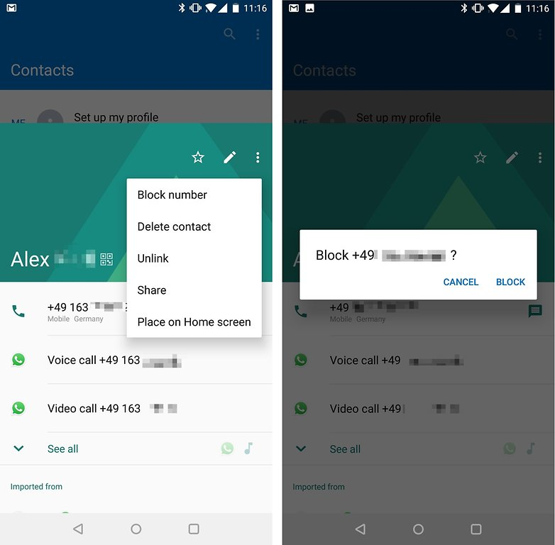 How to block calls on Android phone